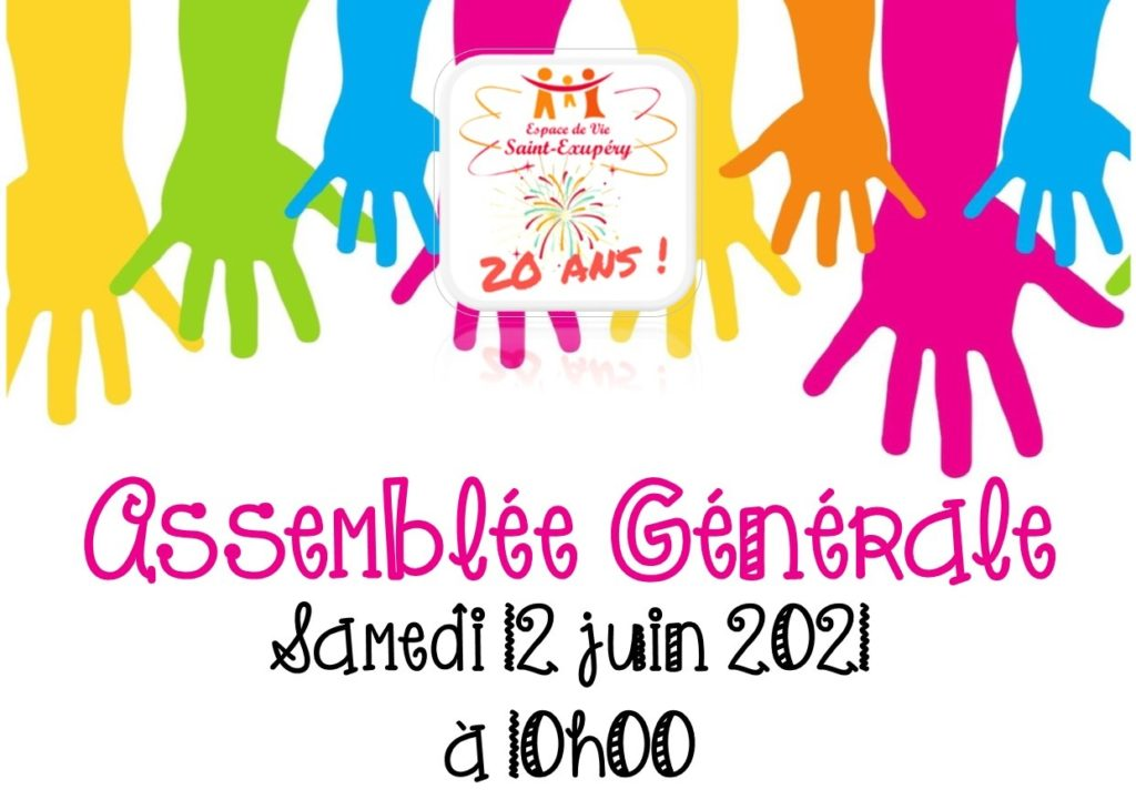Assemblée générale du Centre Social, le samedi 12 juin 2021.